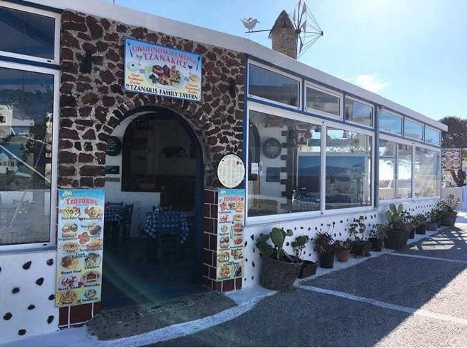 Traditional Tavern Restaurant | Megalochori Santorini Cyclades | Tzanakis