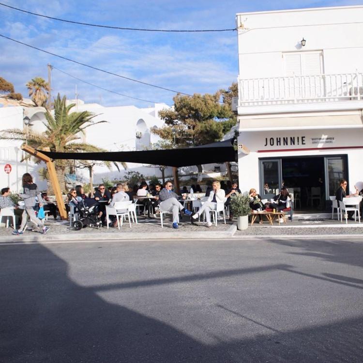 CAFE CREPERIE SANTORINI | JOHNNIE CAFE SNACK BAR